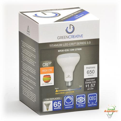 Lovely Green Creative   40642   13BR30G3DIM/927   R30 LED   65 Watt Incandescent  Equivalent Awesome Design